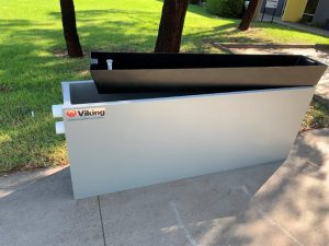Viking Plastics Water Tank Garden Bed